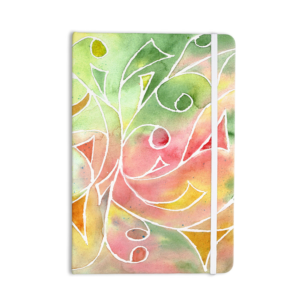 "Rosie Brown ""Gift Wrap"" Multicolor Pastel Everything Notebook - KESS InHouse  - 1"