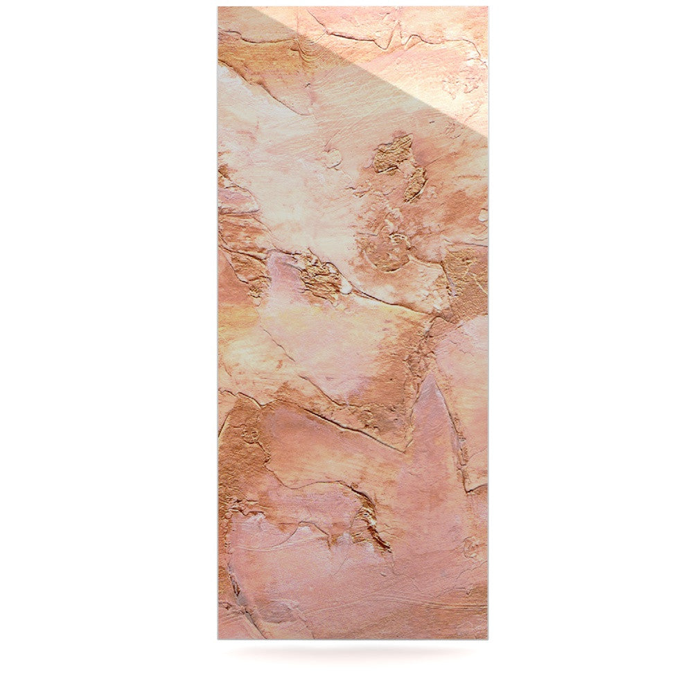 "Rosie Brown ""Bronze It"" Orange Paint Luxe Rectangle Panel - KESS InHouse  - 1"