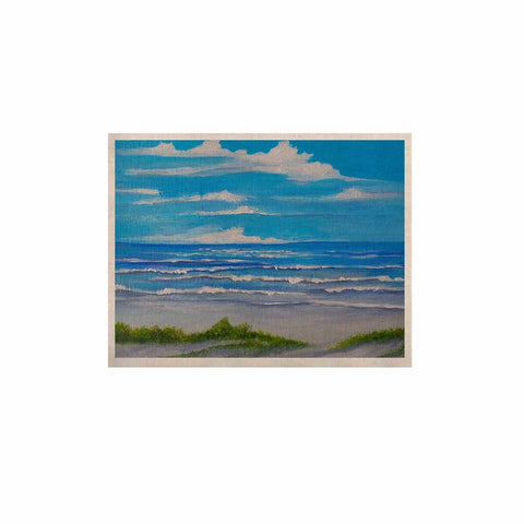 "Rosie Brown ""Sanibel Island"" Coastal Painting KESS Naturals Canvas (Frame not Included) - KESS InHouse  - 1"