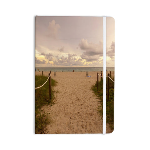 "Rosie Brown ""Walkway To Heaven"" Coastal Photography Everything Notebook - KESS InHouse  - 1"