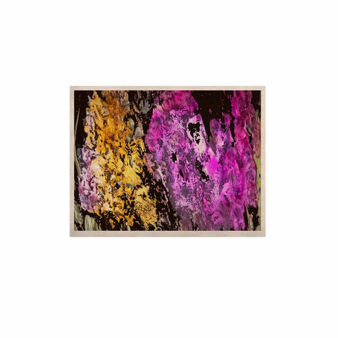 "Rosie Brown ""Garden Glows"" Gold Purple KESS Naturals Canvas (Frame not Included) - KESS InHouse  - 1"