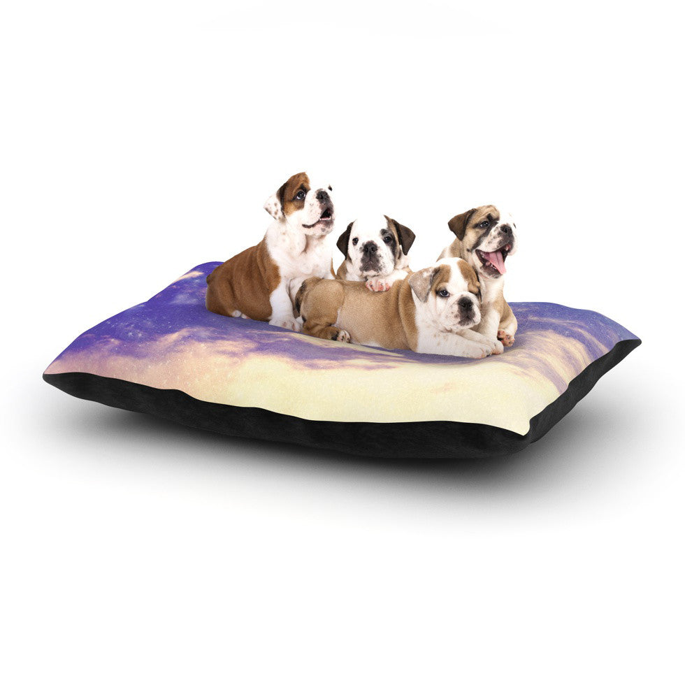 "Rachel Burbee ""Breathe"" Dog Bed - KESS InHouse  - 1"