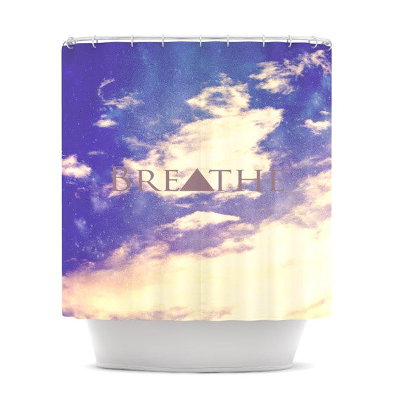 "Rachel Burbee ""Breathe"" Shower Curtain - KESS InHouse"