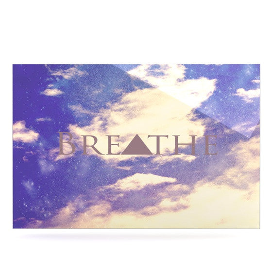 "Rachel Burbee ""Breathe"" Luxe Rectangle Panel - KESS InHouse  - 1"