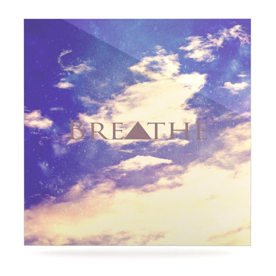 "Rachel Burbee ""Breathe"" Luxe Square Panel - KESS InHouse  - 1"