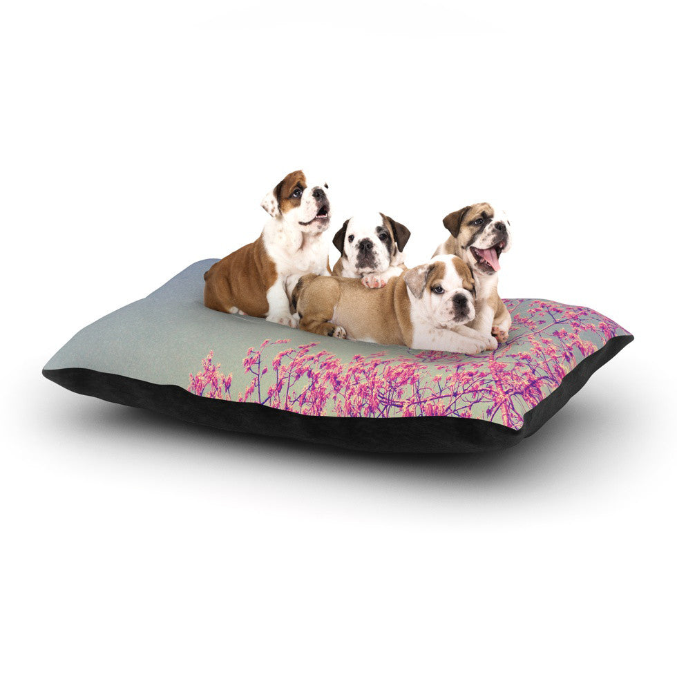 "Rachel Burbee ""Life is Beautiful"" Dog Bed - KESS InHouse  - 1"