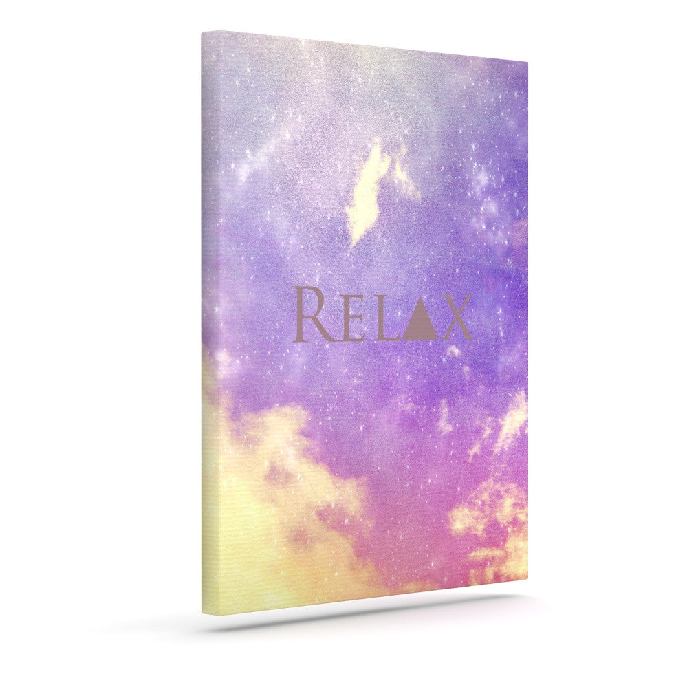 "Rachel Burbee ""Relax"" Outdoor Canvas Wall Art - KESS InHouse  - 1"