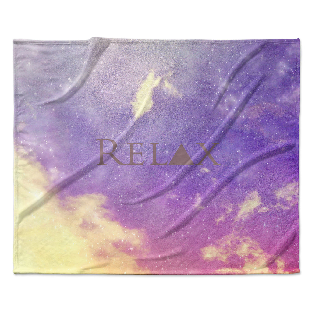 "Rachel Burbee ""Relax"" Throw Blanket"