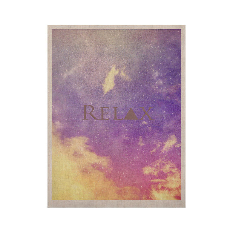 "Rachel Burbee ""Relax"" KESS Naturals Canvas (Frame not Included) - KESS InHouse  - 1"