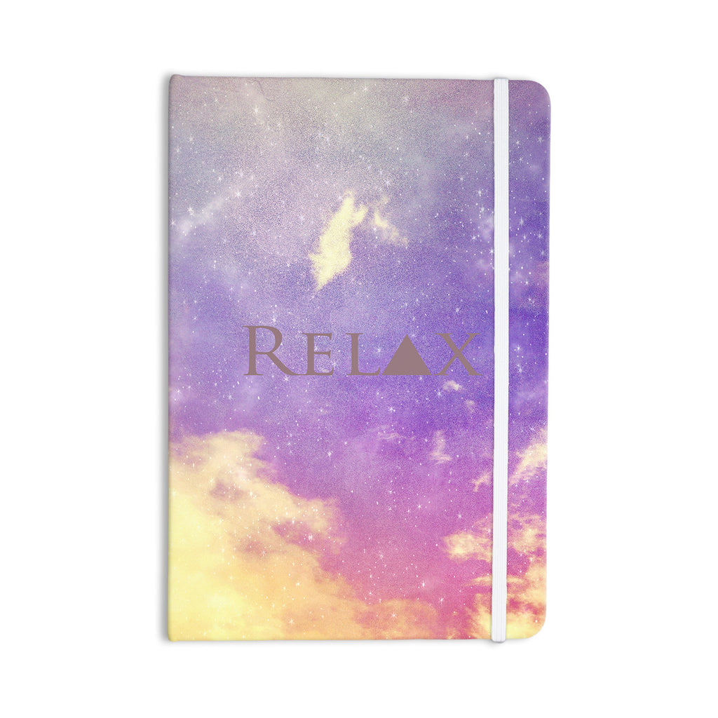 "Rachel Burbee ""Relax"" Everything Notebook - KESS InHouse  - 1"