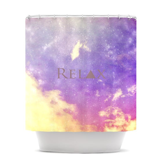 "Rachel Burbee ""Relax"" Shower Curtain - KESS InHouse"