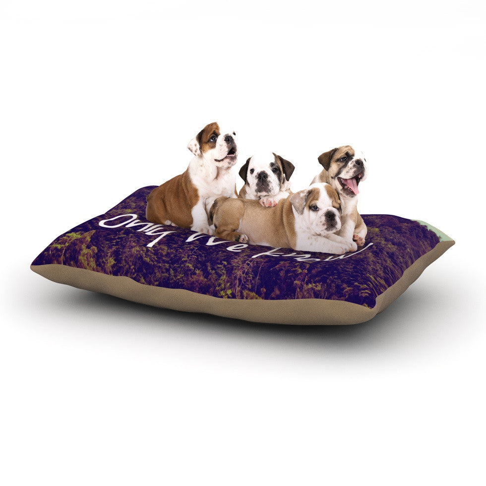 "Rachel Burbee ""Somewhere"" Dog Bed - KESS InHouse  - 1"