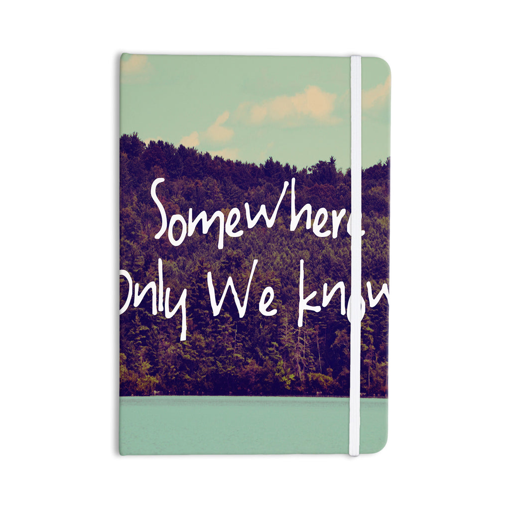 "Rachel Burbee ""Somewhere"" Everything Notebook - KESS InHouse  - 1"