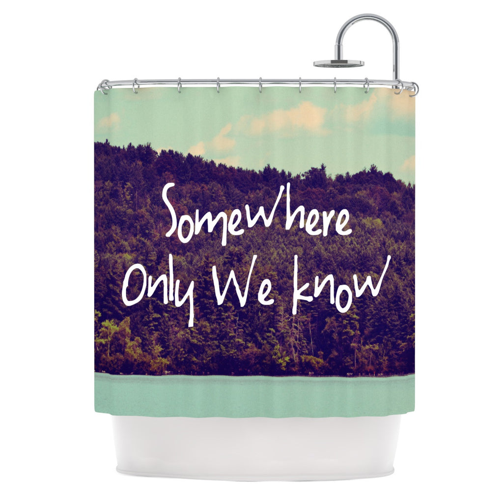 "Rachel Burbee ""Somewhere"" Shower Curtain - KESS InHouse"