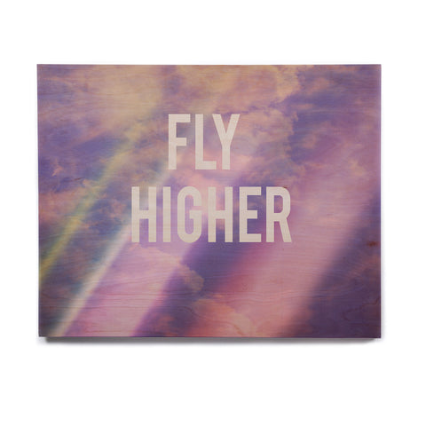 "Rachel Burbee ""Fly Higher"" Birchwood Wall Art - KESS InHouse  - 1"