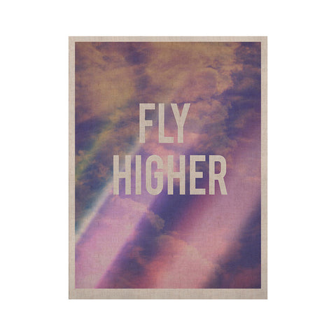 "Rachel Burbee ""Fly Higher"" KESS Naturals Canvas (Frame not Included) - KESS InHouse  - 1"