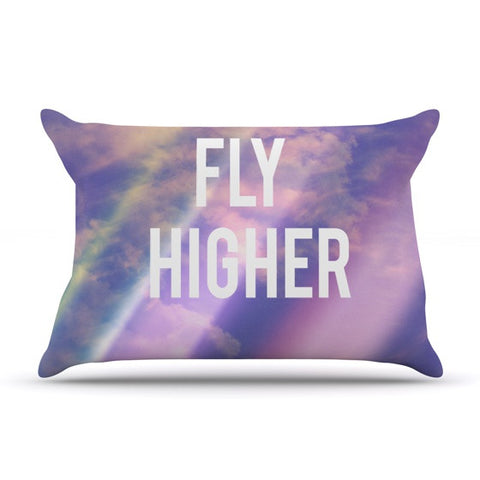 "Rachel Burbee ""Fly Higher"" Pillow Sham - KESS InHouse"