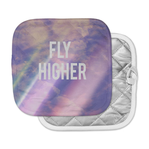 "Rachel Burbee ""Fly Higher"" Pot Holder"