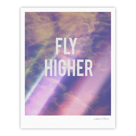 "Rachel Burbee ""Fly Higher"" Fine Art Gallery Print - KESS InHouse"