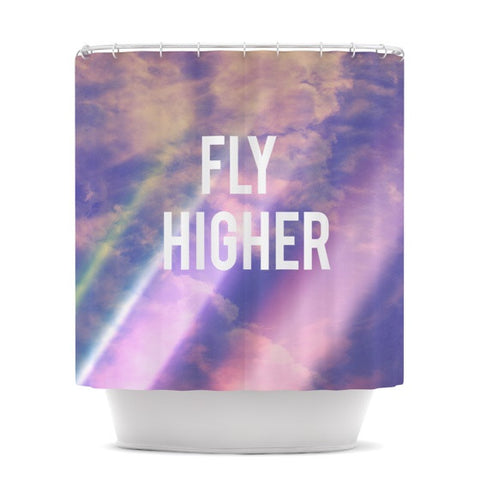 "Rachel Burbee ""Fly Higher"" Shower Curtain - KESS InHouse"