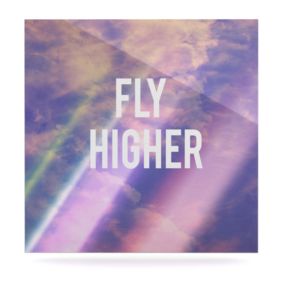 "Rachel Burbee ""Fly Higher"" Luxe Square Panel - KESS InHouse  - 1"