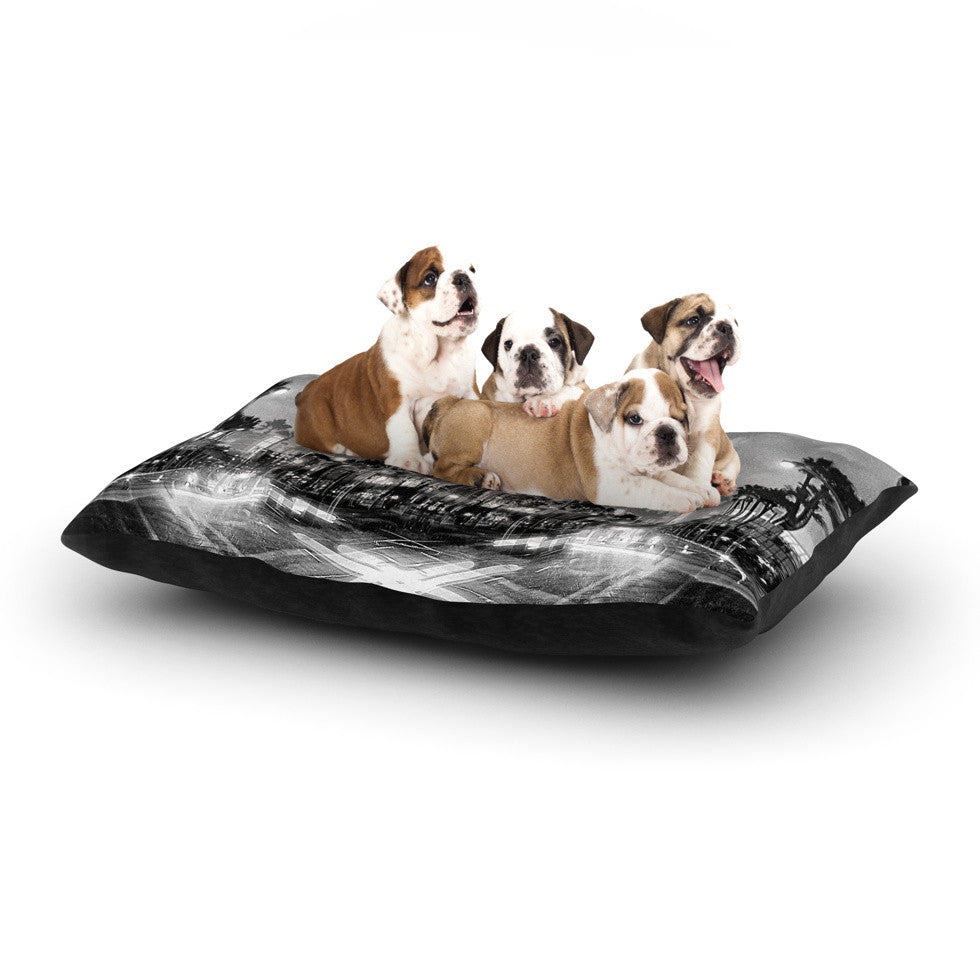 "Richard Casillas ""X Marks the Spot"" Dog Bed - KESS InHouse  - 1"