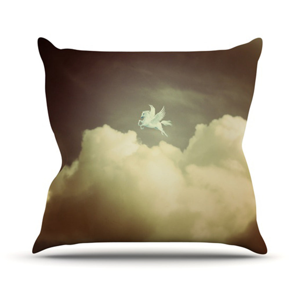 "Richard Casillas ""Pegasus"" Throw Pillow - KESS InHouse  - 1"