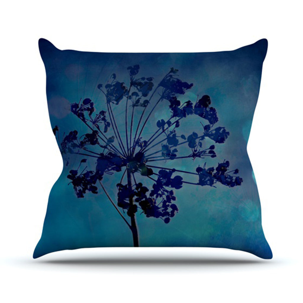 "Robin Dickinson ""Grapesiscle"" Throw Pillow - KESS InHouse  - 1"