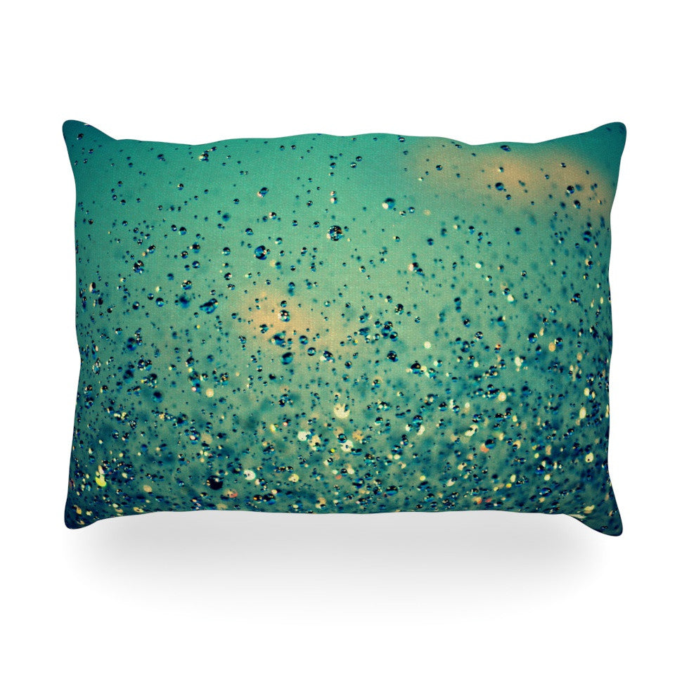 "Robin Dickinson ""Lullaby, Close Your Eyes"" Oblong Pillow - KESS InHouse"