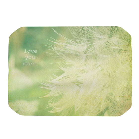 "Robin Dickinson ""Love You More"" Place Mat - KESS InHouse"