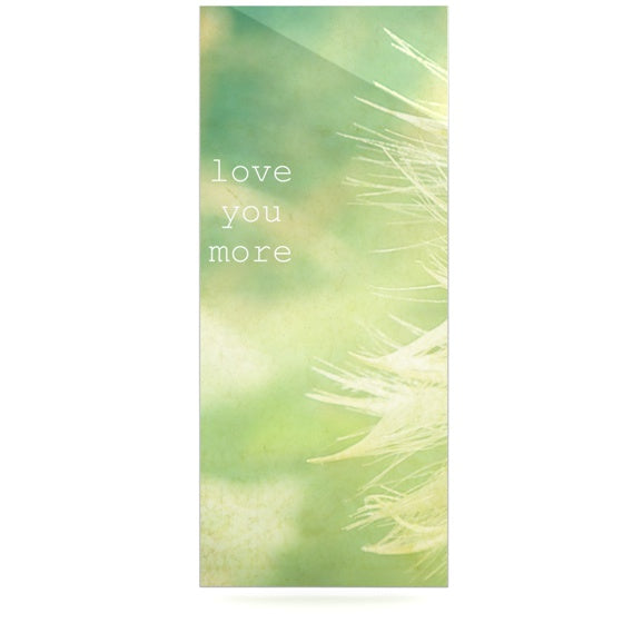 "Robin Dickinson ""Love You More"" Luxe Rectangle Panel - KESS InHouse  - 1"