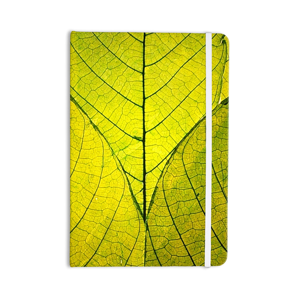 "Robin Dickinson ""Every Leaf a Flower"" Everything Notebook - KESS InHouse  - 1"