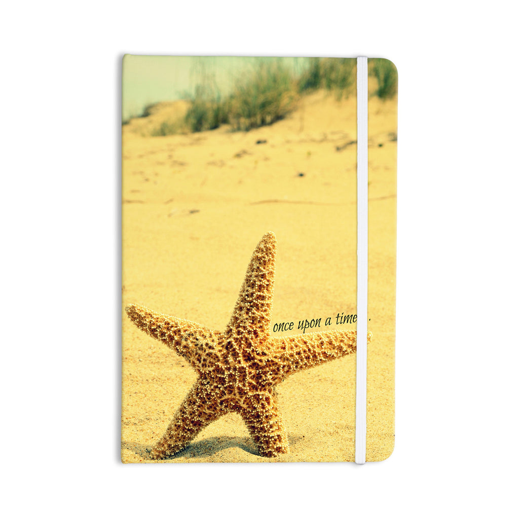 "Robin Dickinson ""Once upon a Time"" Starfish Everything Notebook - KESS InHouse  - 1"