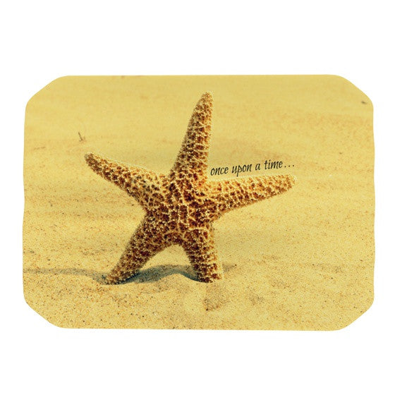 "Robin Dickinson ""Once upon a Time"" Starfish Place Mat - KESS InHouse"