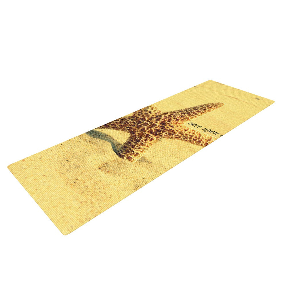 "Robin Dickinson ""Once upon a Time"" Starfish Yoga Mat - KESS InHouse  - 1"