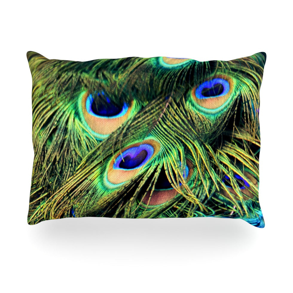 "Robin Dickinson ""You Are Beautiful"" Oblong Pillow - KESS InHouse"