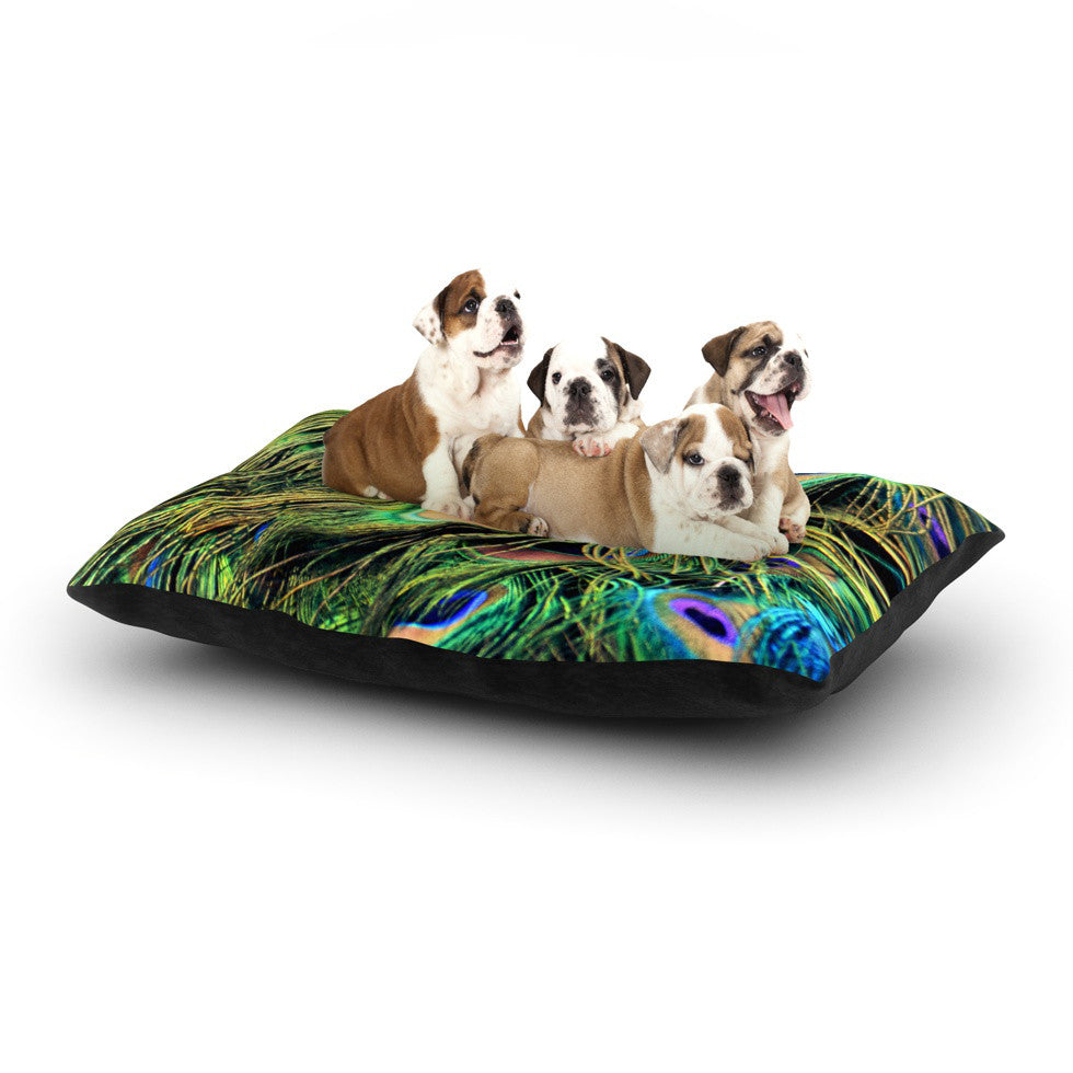 "Robin Dickinson ""You Are Beautiful"" Dog Bed - KESS InHouse  - 1"