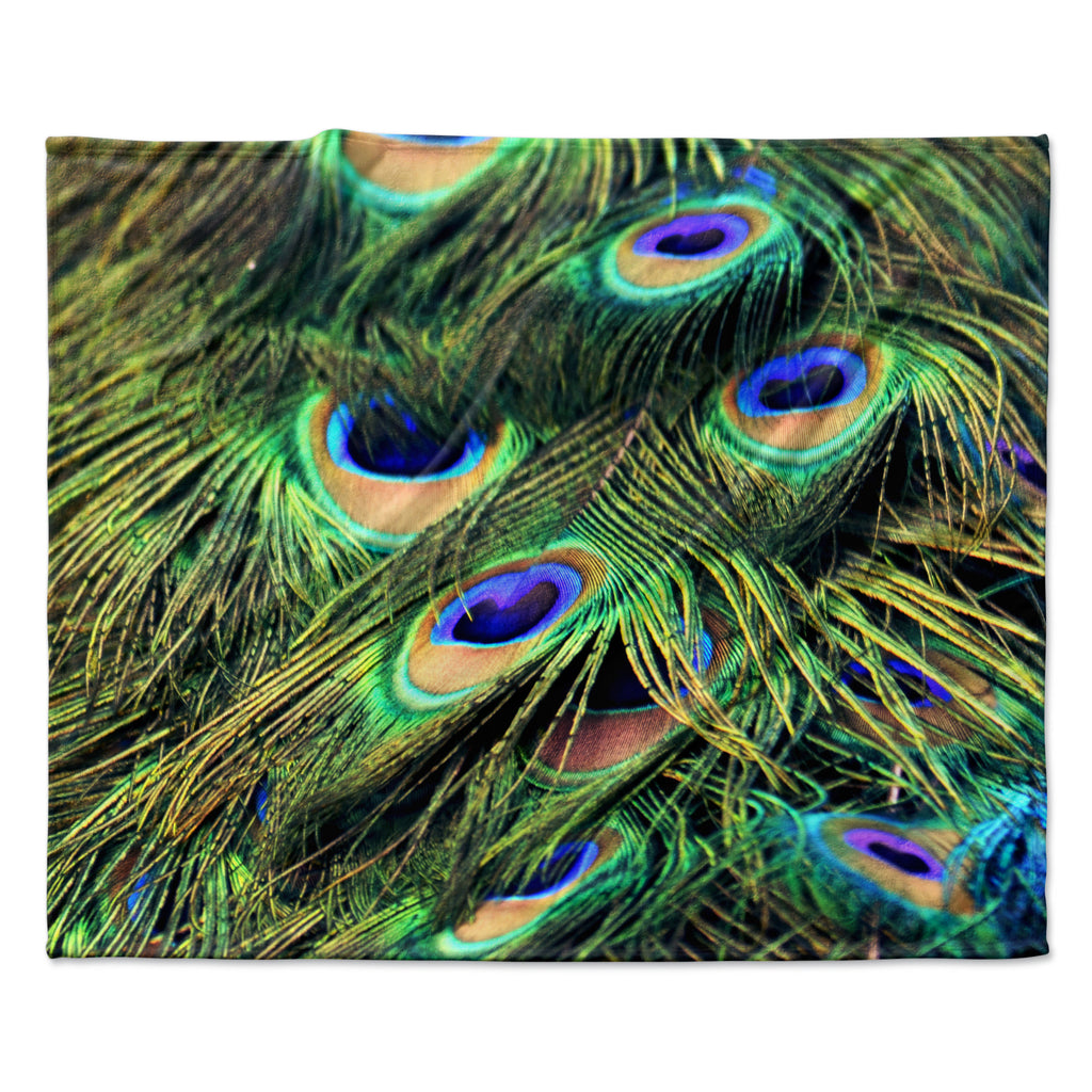"Robin Dickinson ""You Are Beautiful"" Fleece Throw Blanket"
