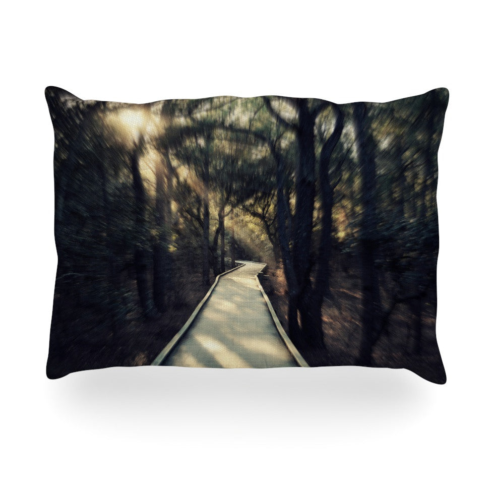 "Robin Dickinson ""Dream Worthy"" Oblong Pillow - KESS InHouse"
