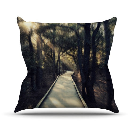 "Robin Dickinson ""Dream Worthy"" Outdoor Throw Pillow - KESS InHouse  - 1"