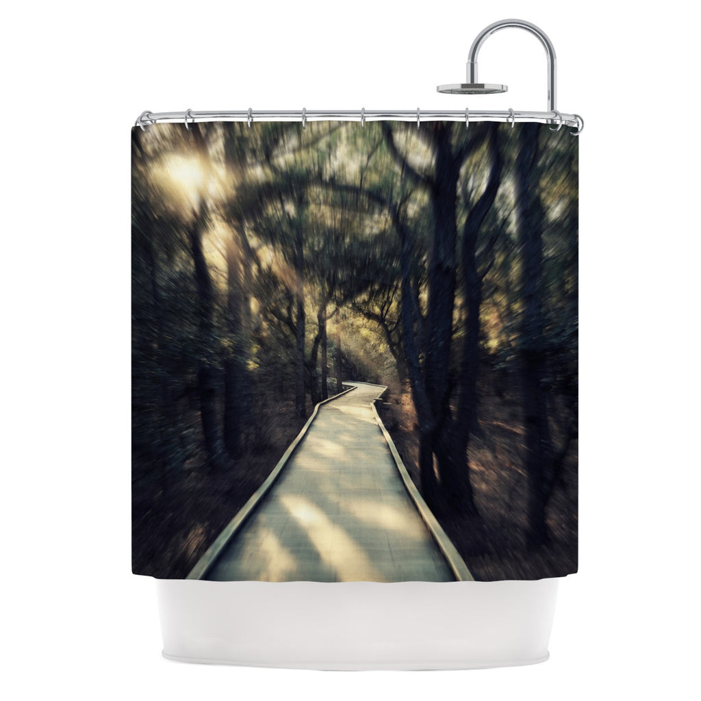 "Robin Dickinson ""Dream Worthy"" Shower Curtain - KESS InHouse"