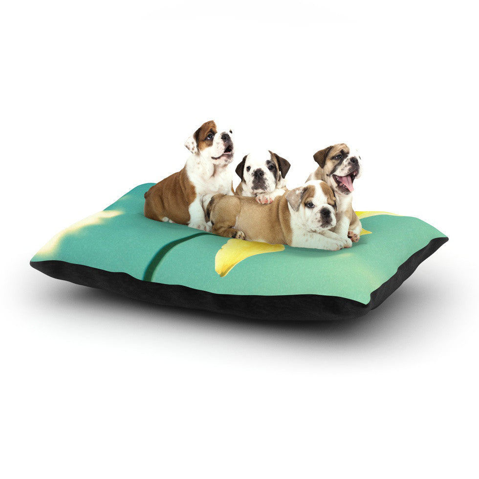 "Robin Dickinson ""Daffodil"" Dog Bed - KESS InHouse  - 1"