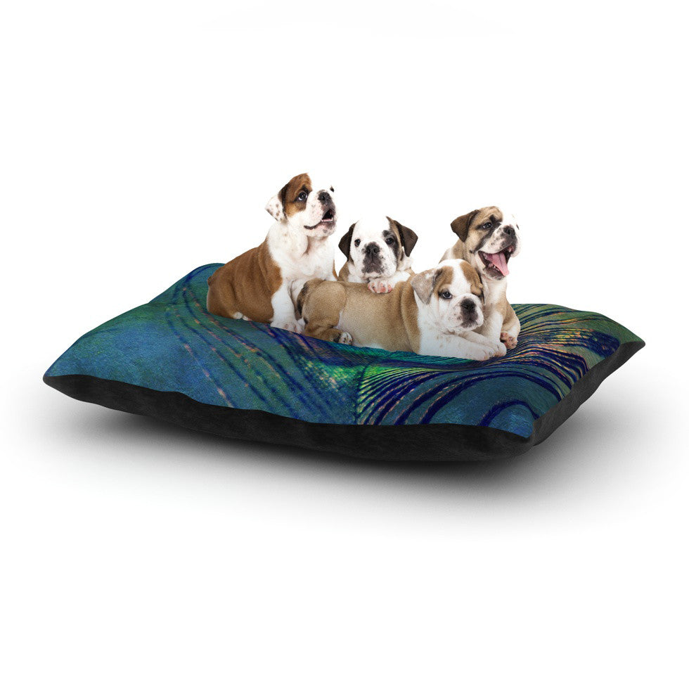 "Robin Dickinson ""Plume"" Dog Bed - KESS InHouse  - 1"
