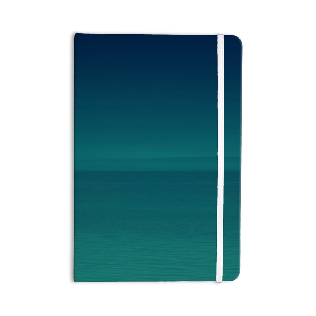 "Robin Dickinson ""When We're Together"" Teal Everything Notebook - KESS InHouse  - 1"