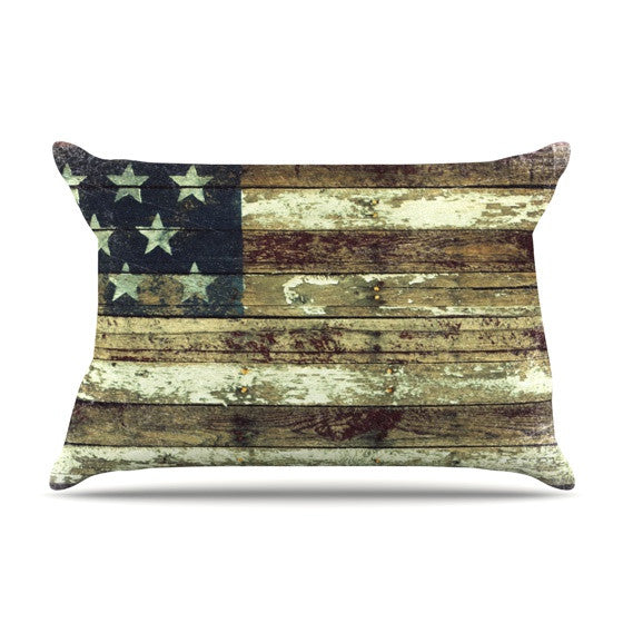 "Robin Dickinson ""Oh Beautiful"" Pillow Sham - KESS InHouse"