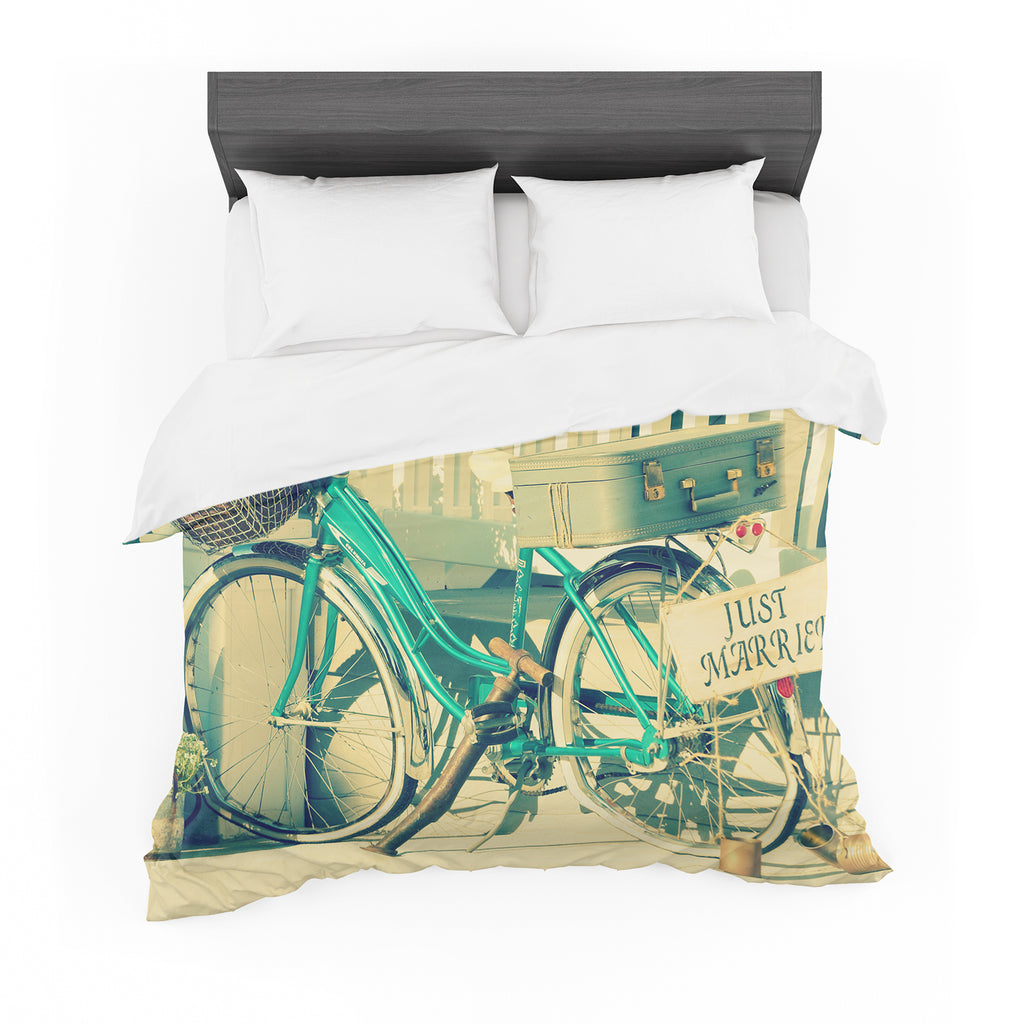 "Robin Dickinson ""Just Married"" Cotton Duvet"