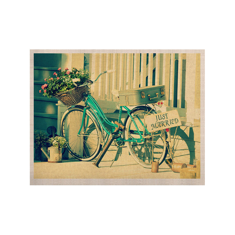 "Robin Dickinson ""Just Married"" KESS Naturals Canvas (Frame not Included) - KESS InHouse  - 1"