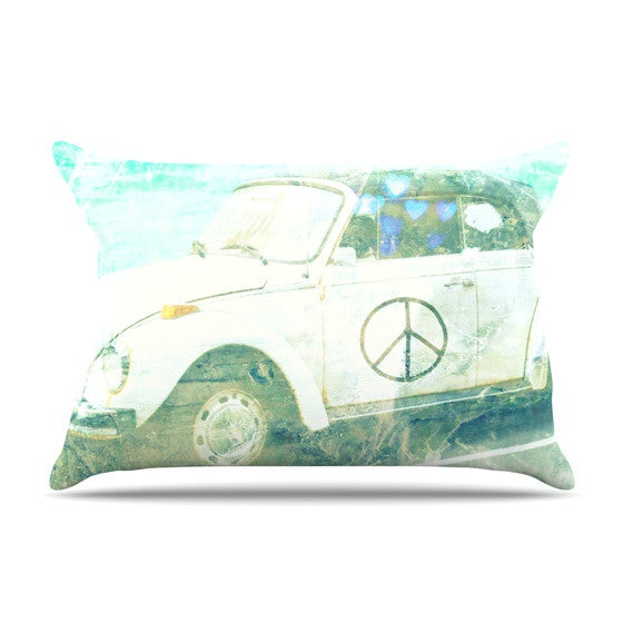 "Robin Dickinson ""Love Bug"" Pillow Sham - KESS InHouse"
