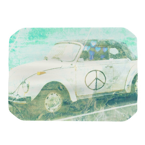 "Robin Dickinson ""Love Bug"" Place Mat - KESS InHouse"
