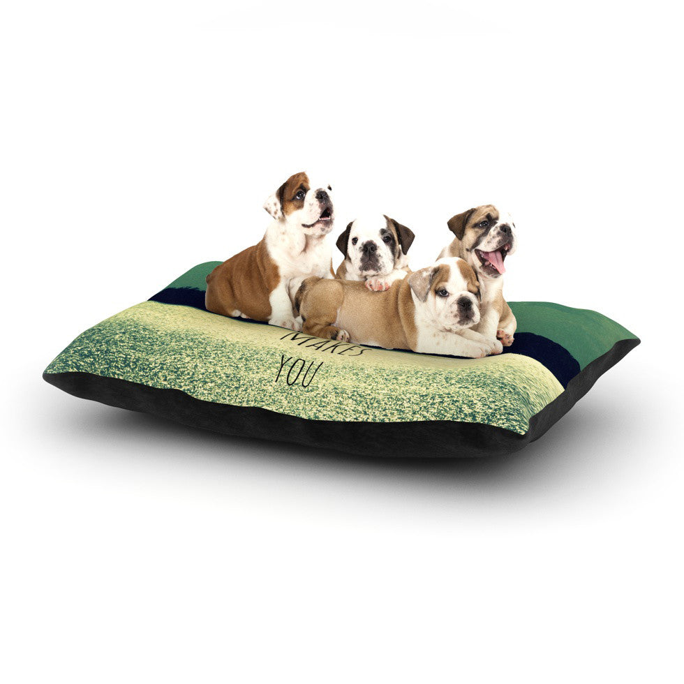 "Robin Dickinson ""Love Makes You Sparkle"" Dog Bed - KESS InHouse  - 1"